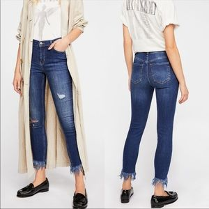 FP we the free | greater heights frayed jeans
